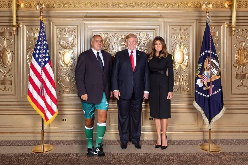Бойко с Тръмп