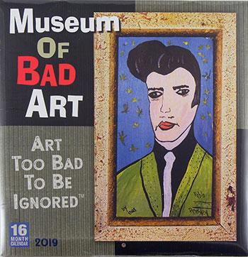 Плакат на Музея за лошо изкуство