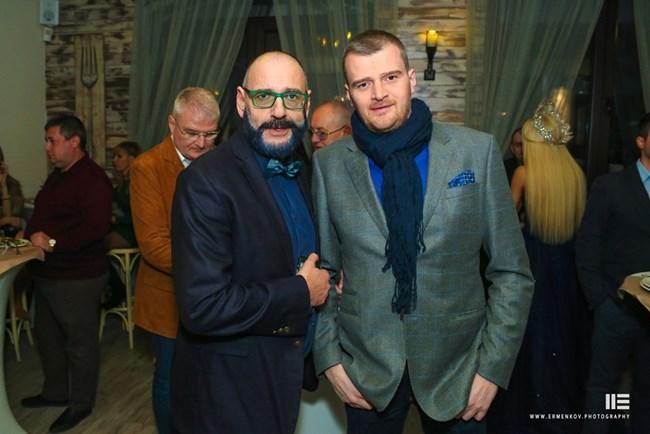 Любен Дилов син и Борис Гълъбов
