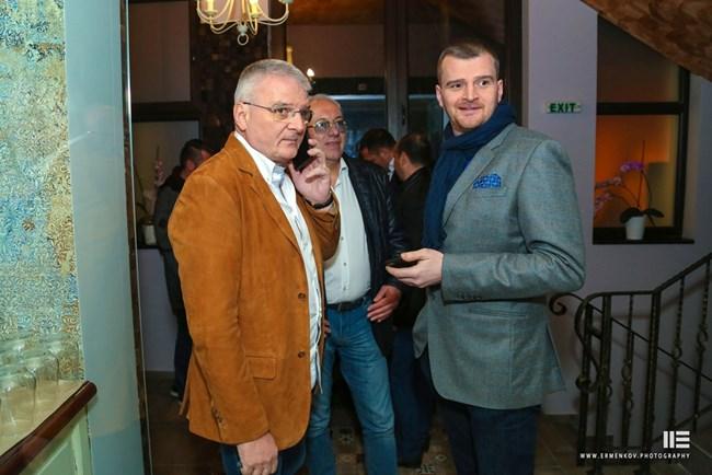Христо Сираков и Борис Гълъбов