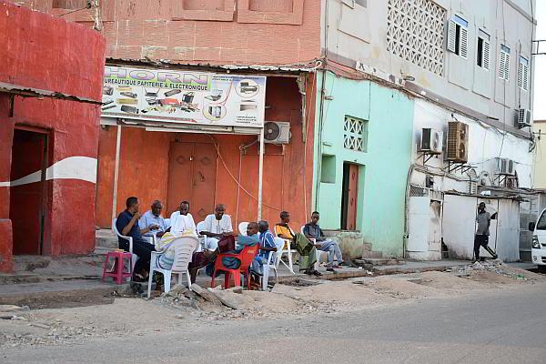 Следобед в Джибути