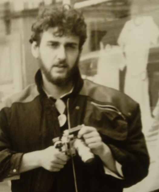 1989 г. Любен Дилов син, снимка: Венцислав Лаков