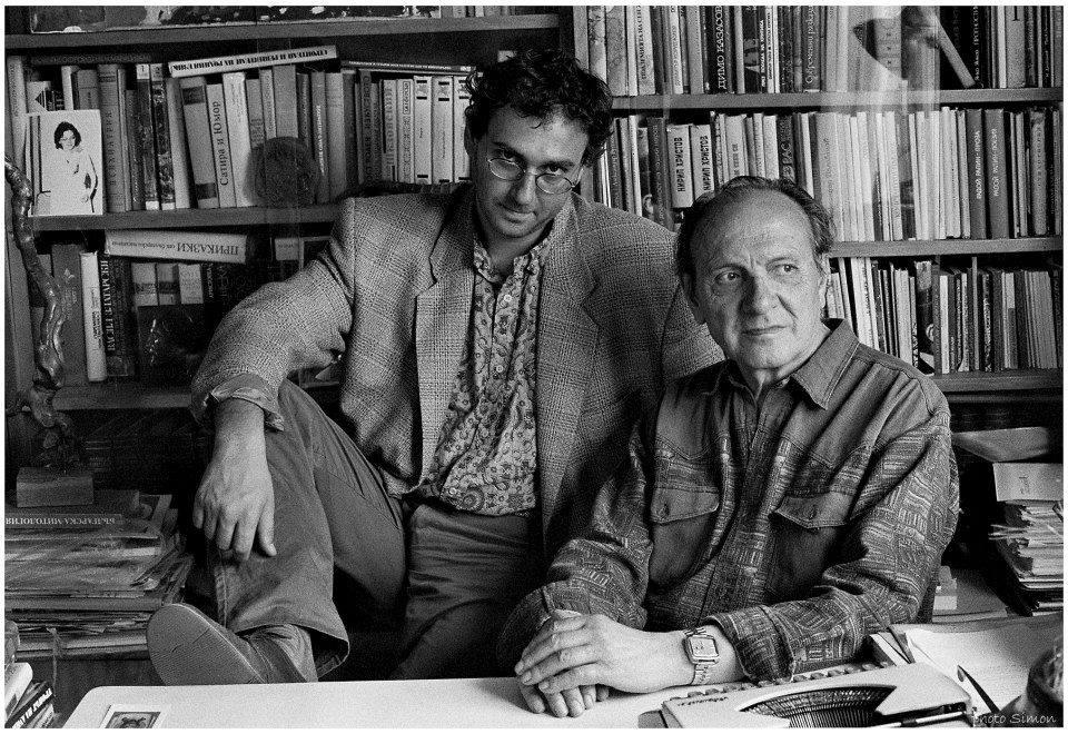 1995 г. Любеин Дилов Баща и син, снимка: Симон Варсано